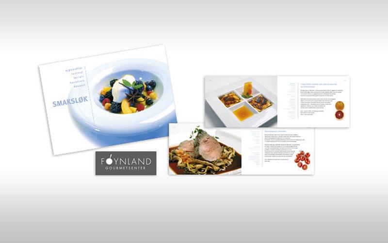 Foynland Storkjøkken - logo og kokebok