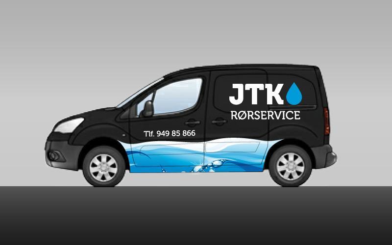 Bildekor for JTK Rørservice